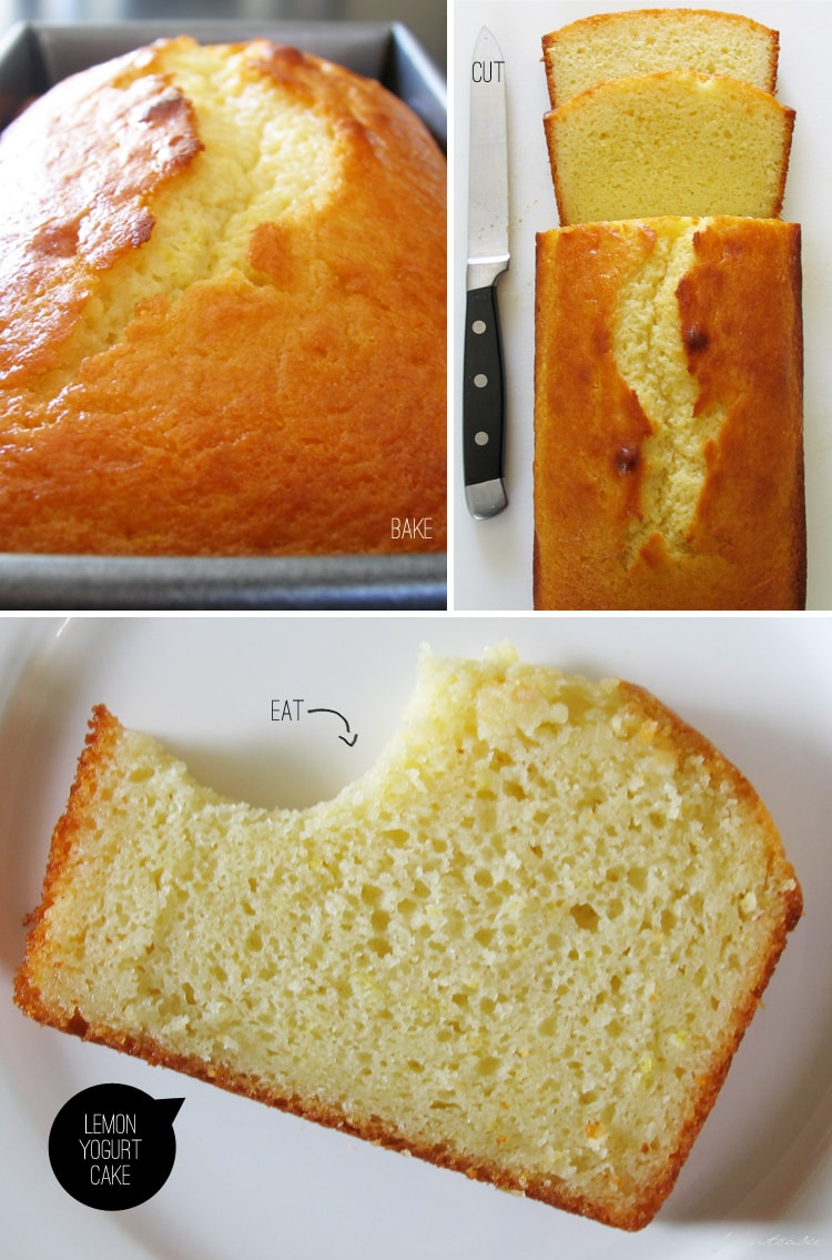 Craving: Lemon Yogurt Cake - Freutcake | Freutcake