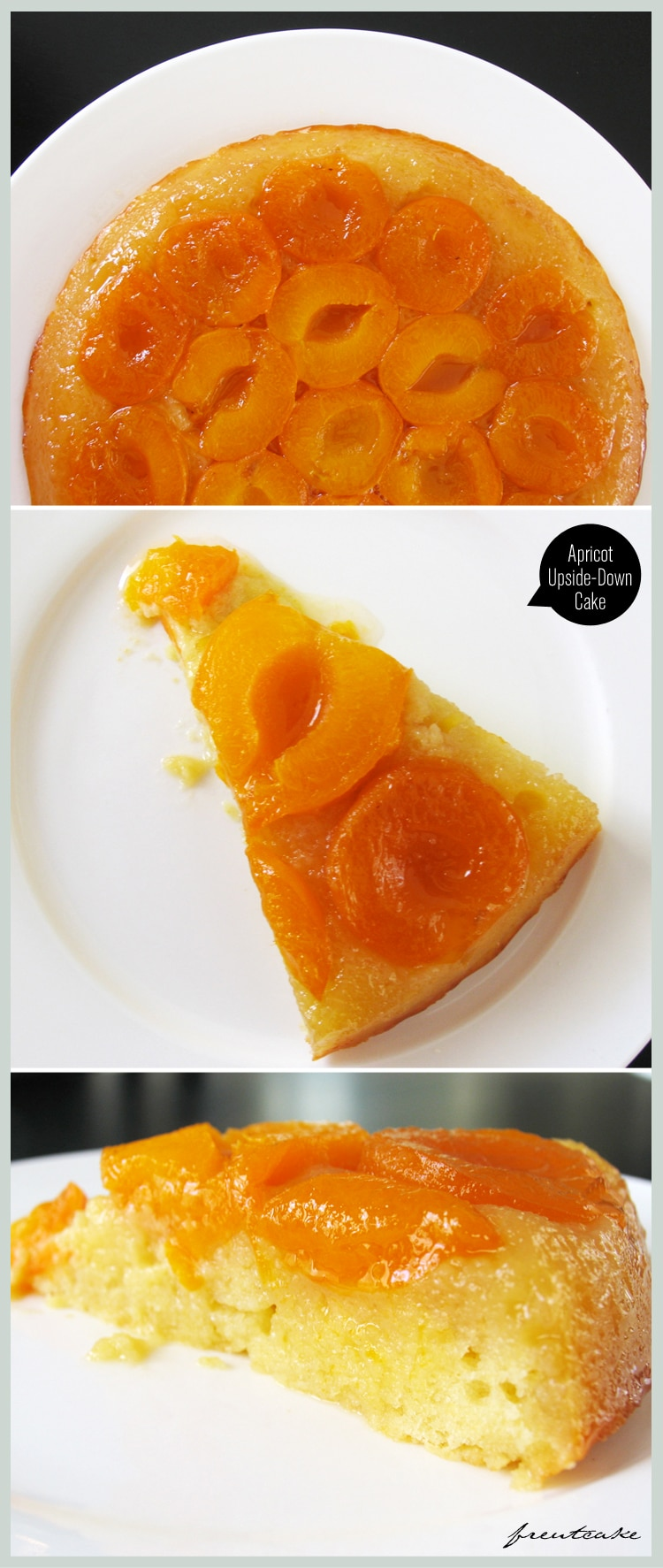 Apricot Cake Tatin - Freutcake