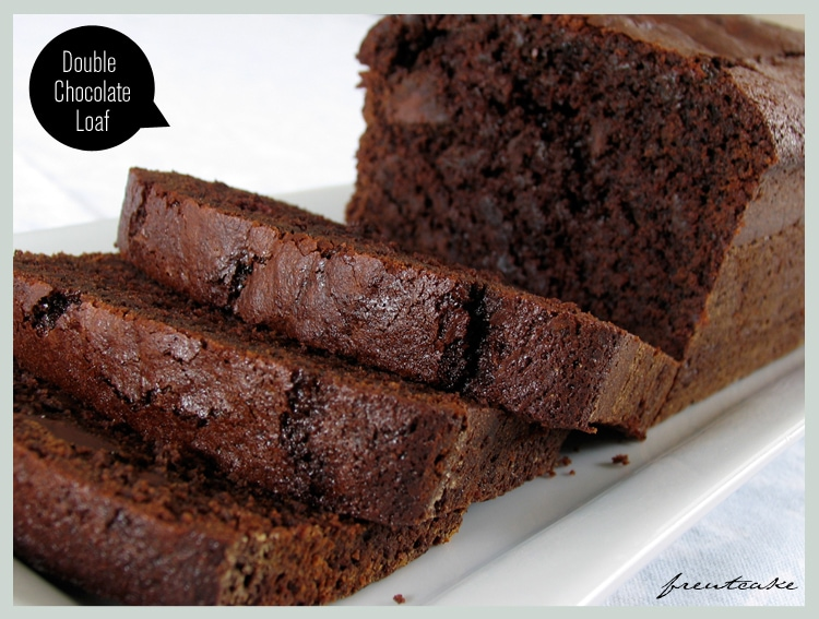 Double Chocolate Loaf - Freutcake | Freutcake