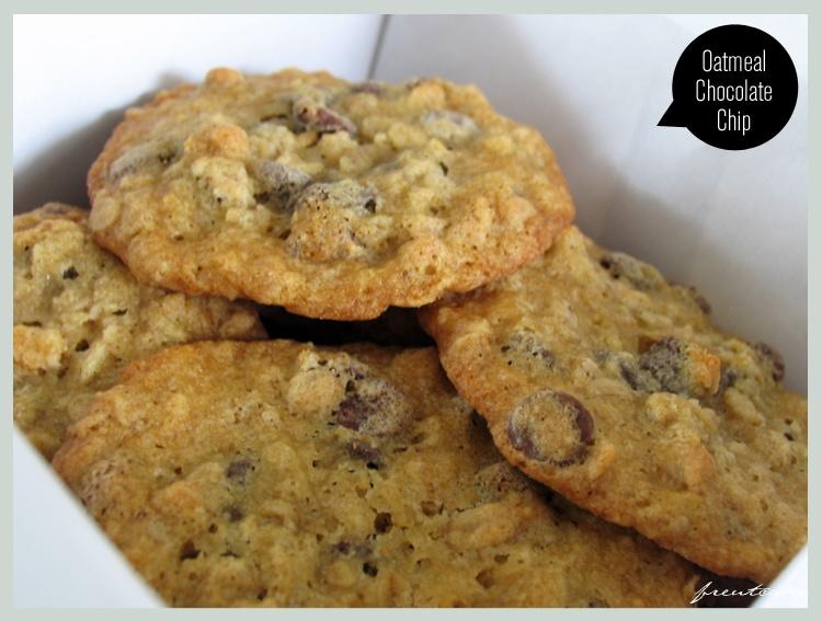 A Box of Oatmeal Cookies