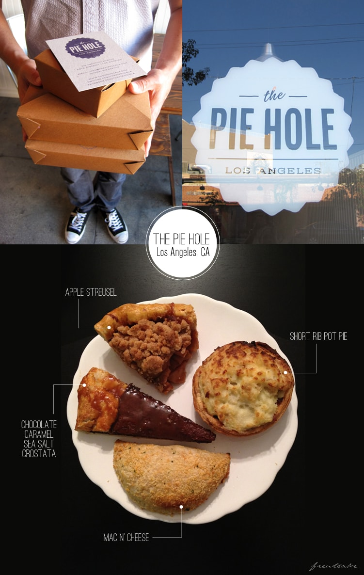 The Pie Hole Freutcake