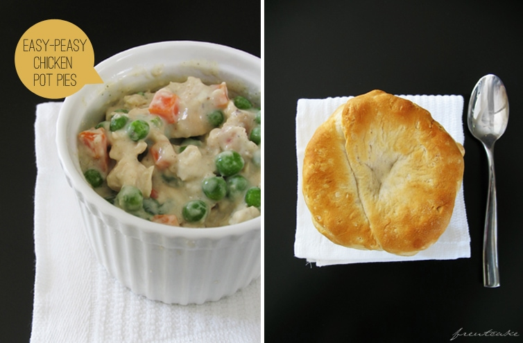 chickenpotpie {Lighter} Chicken Pot Pies