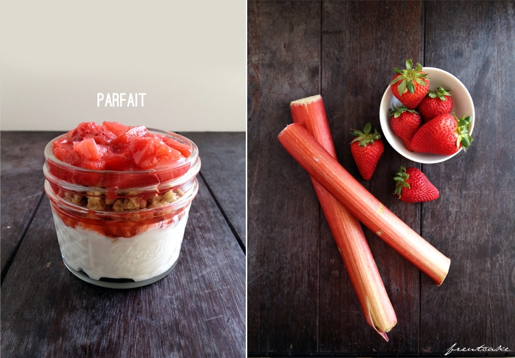 Roasted Rhubarb & Pink Peppercorn Compote Recipe — Dishmaps