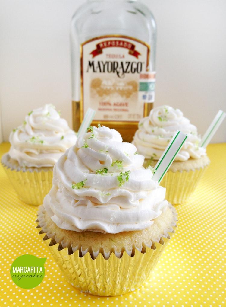 Margarita Cupcakes Recipe — Dishmaps