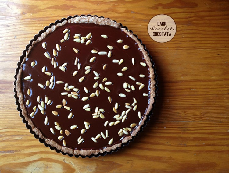 and pine nuts chocolate tart with pine nuts recipes dishmaps chocolate ...