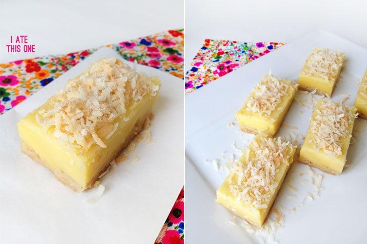crunchy coconut shortbread crust creamy lemon curd and toasty coconut ...