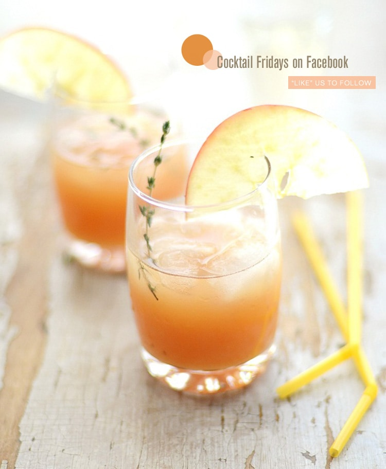 Cocktail fridays cider rum punch {Cocktail Fridays} Cider Rum Punch