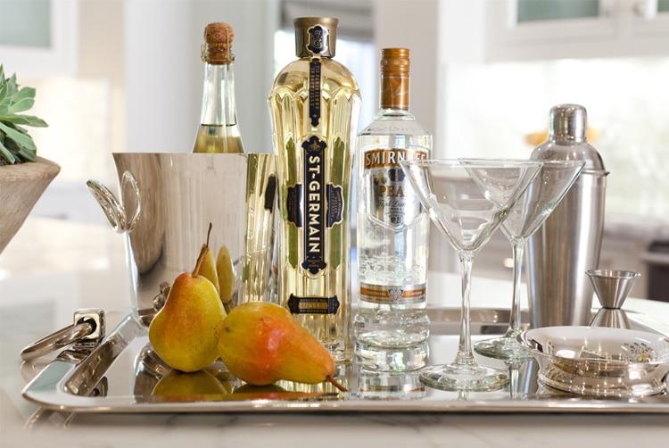 Style Me Pretty: French Pear Martini