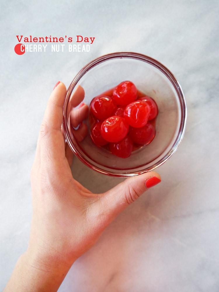 {Valentine's Day} Cherry Nut Bread