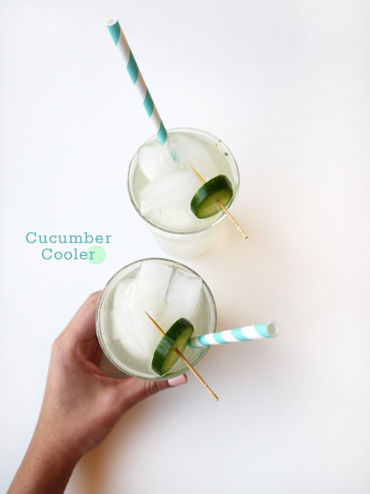 Cucumber Cooler Cocktail Recipe Freutcake {Cocktail Friday} Cucumber Cooler