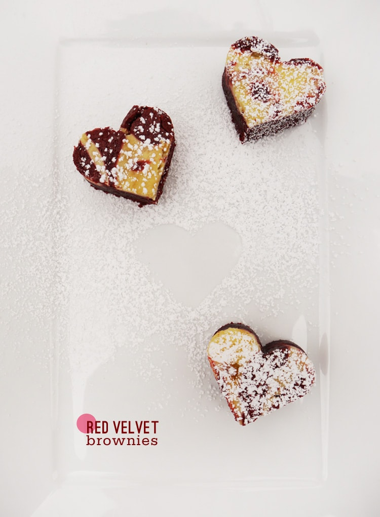Red Velvet Cream Cheese Brownies 1 {Valentines} Red Velvet Cream Cheese Brownies