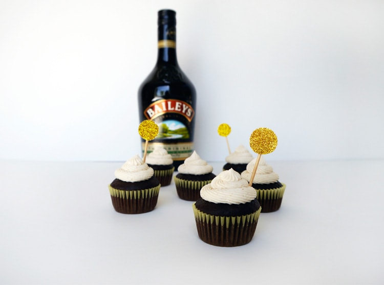 Baileys Irish Cream Cupcakes 3 Baileys Irish Cream Cupcakes