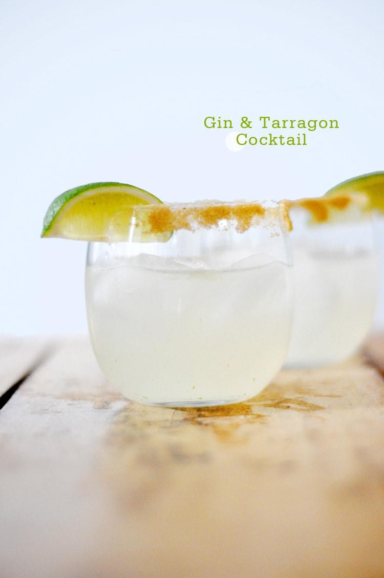 Gin-Tarragon-Cocktail-Recipe-Freutcake