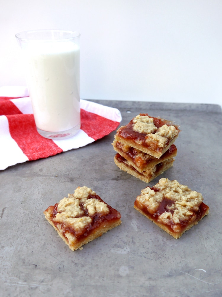 Strawberry Jam Crumb Bars 2 Strawberry Jam Crumb Bars