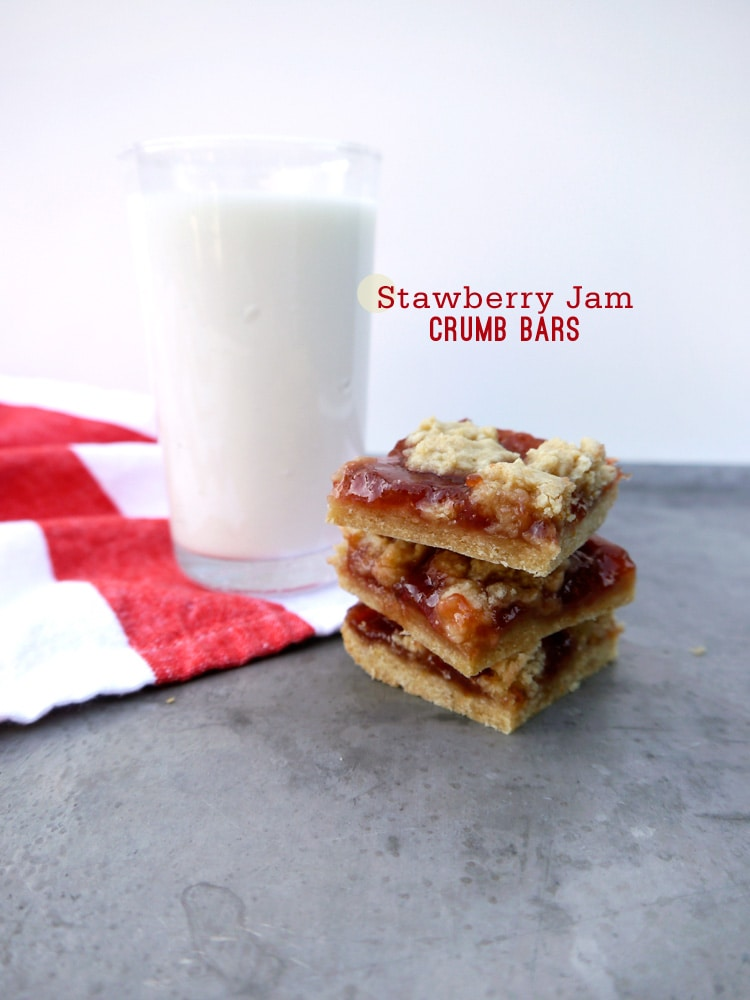 Strawberry Jam Crumb Bars Strawberry Jam Crumb Bars