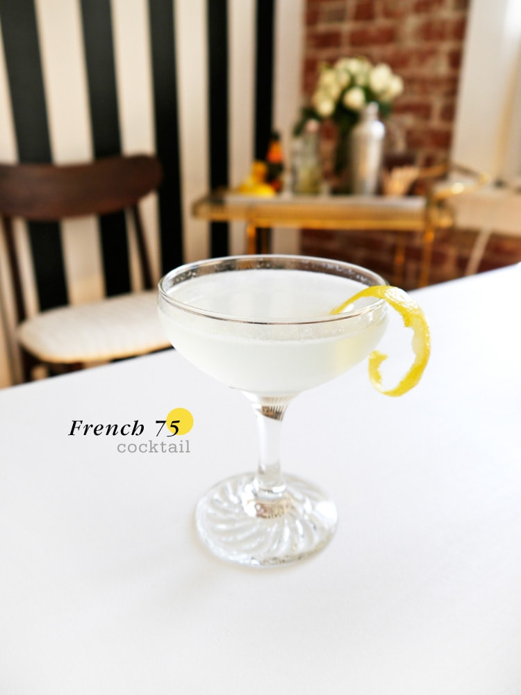 Cocktail Friday French 75  {Cocktail Friday} French 75