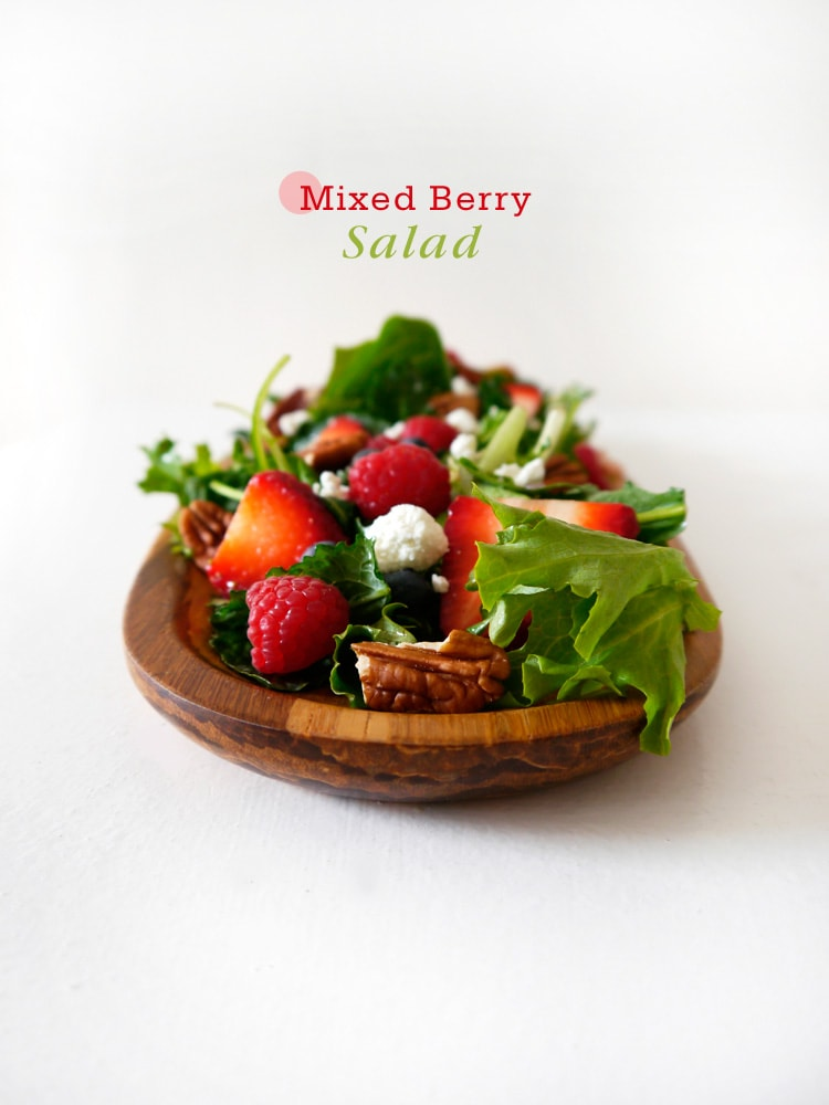 Mixed Berry Salad with Champagne Vinaigrette