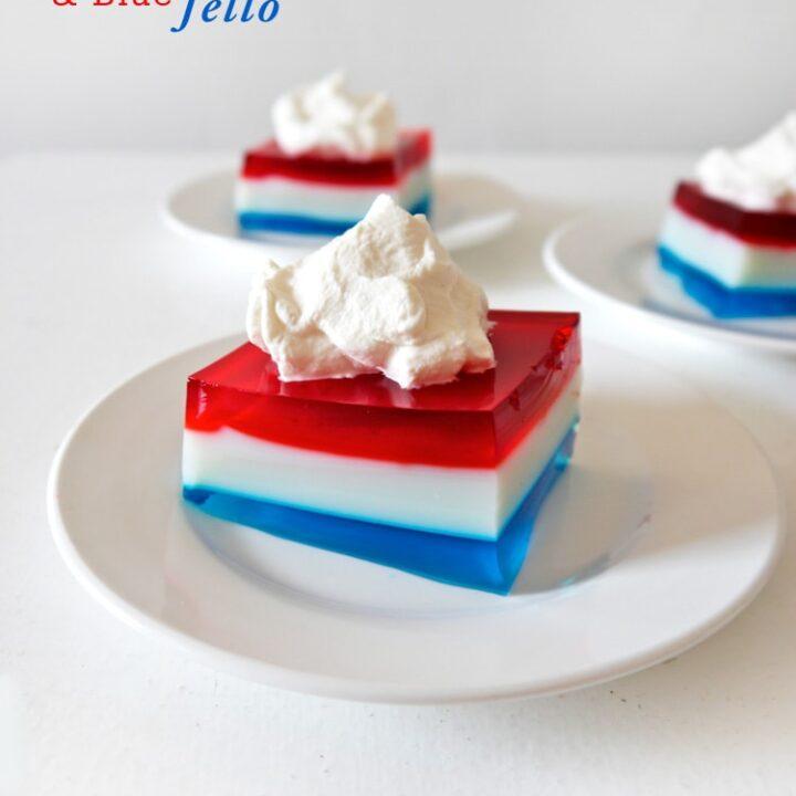 Red-White-&-Blue-Jello