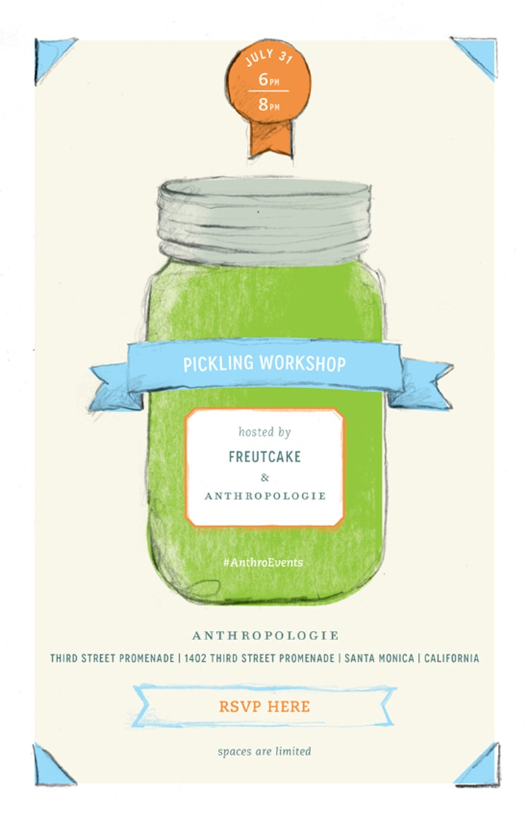 Preserving Summer with Anthropologie