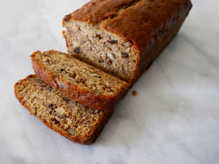 Browned Butter Banana Bread 1 Browned Butter Banana Bread