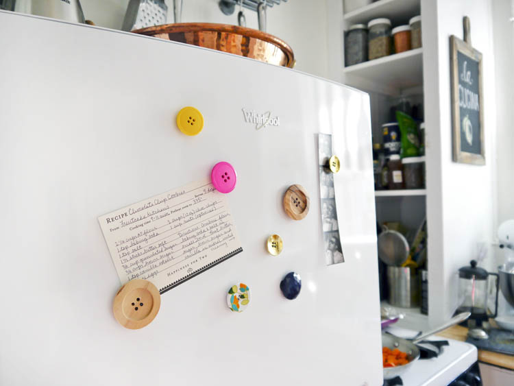 DIY Button Magnets 2