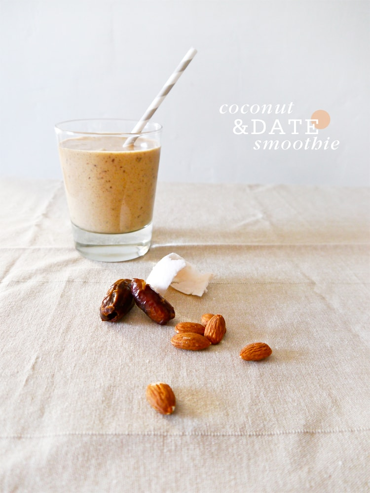 Coconut Date Breakfast Smoothie
