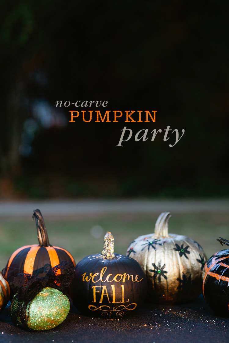 No-carve-Pumpkin-Party