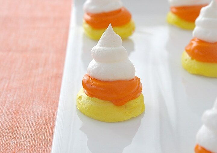 candy-corn-meringues