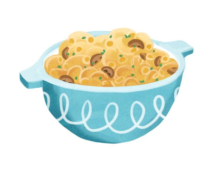 Mushroom & Thyme Macaroni and Cheese