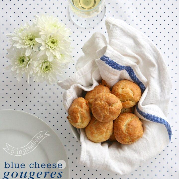 5-Ingredient-Blue-Cheese-Gougeres