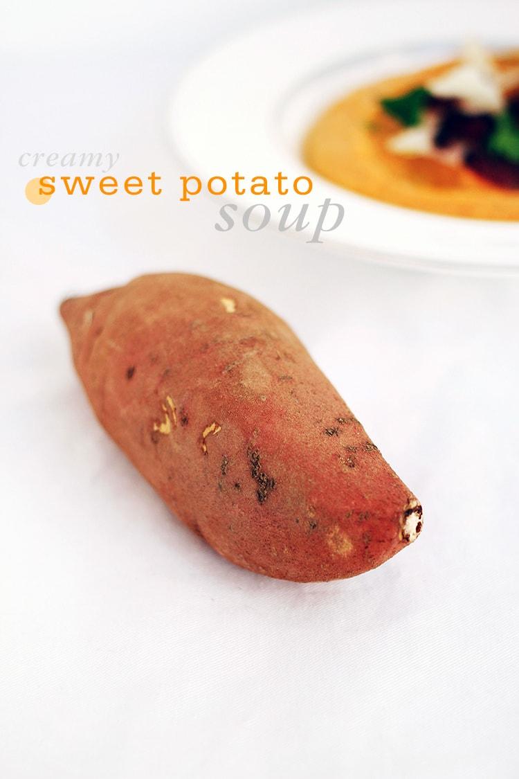 Creamy Sweet Potato Soup | Freutcake