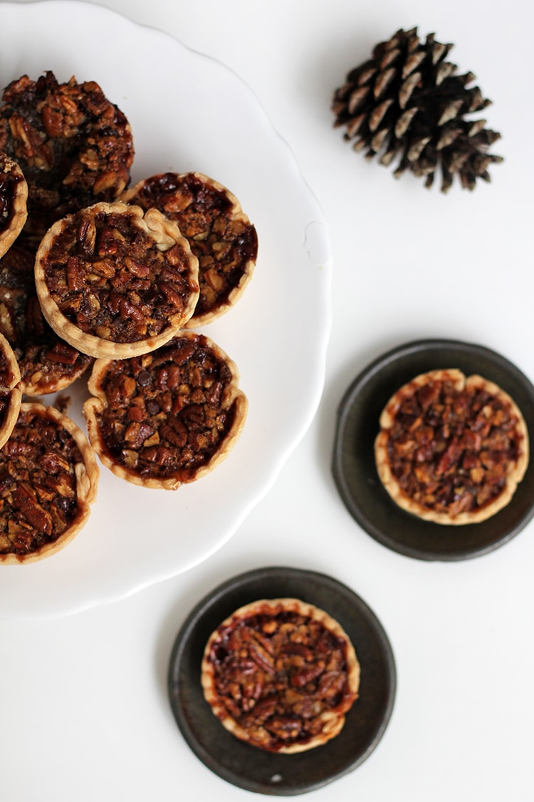 Mini Bourbon Pecan Pies