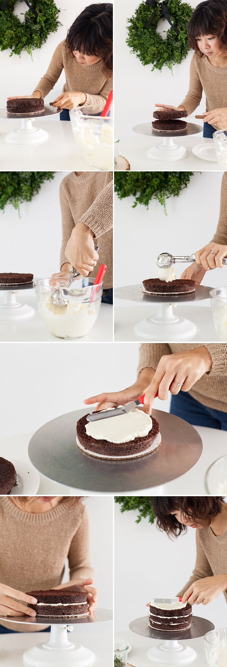How Decorate Cake At Home : How to: Decorate a Winter Cake