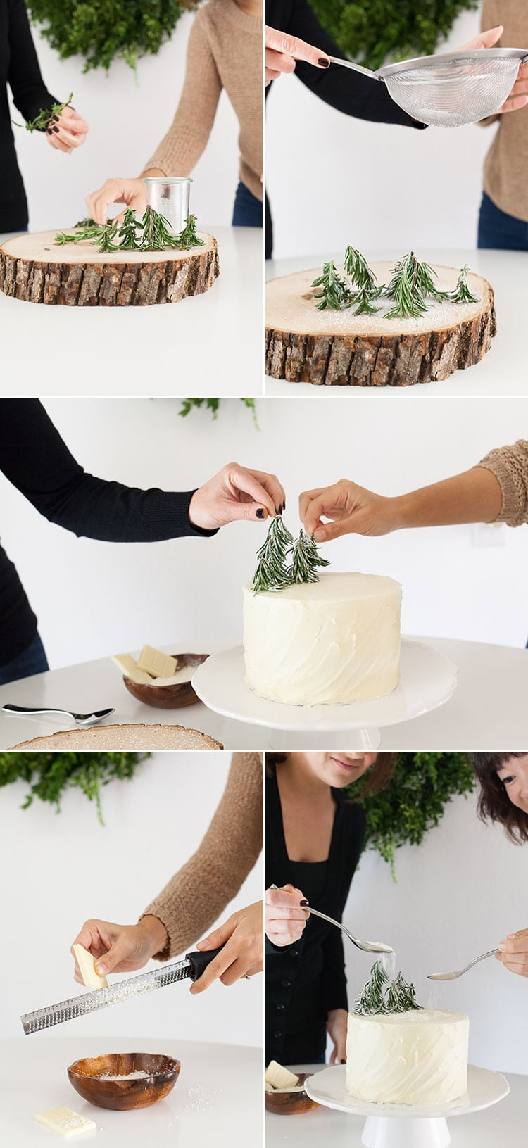 how to decorate a winter cake - How To Decorate A Cake