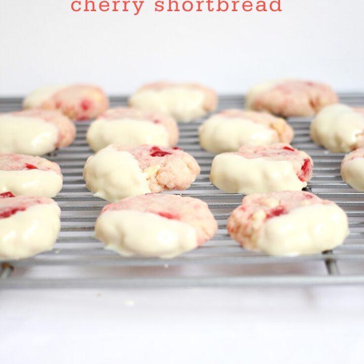 White-Chocolate-Cherry-Shortbread