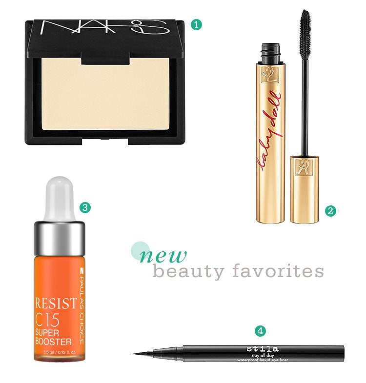 A Few New Beauty Favorites A Few New Beauty Favorites