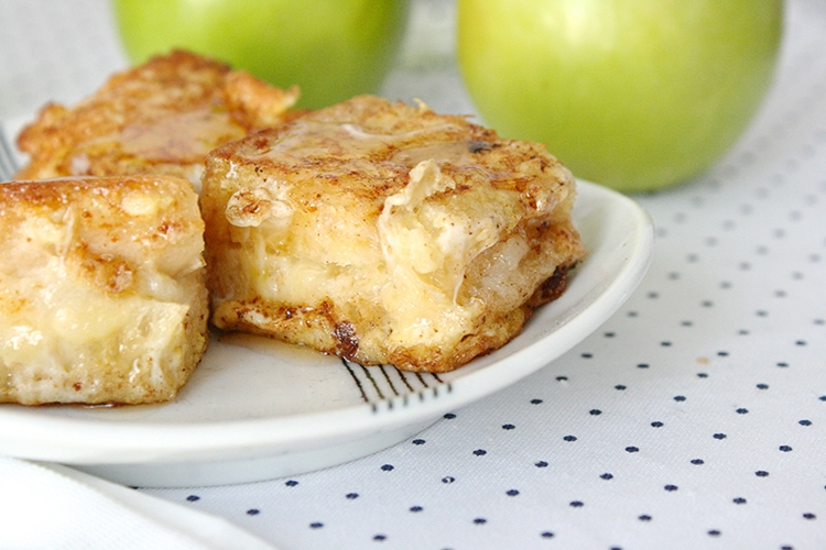 Apple Sourdough French Toasts