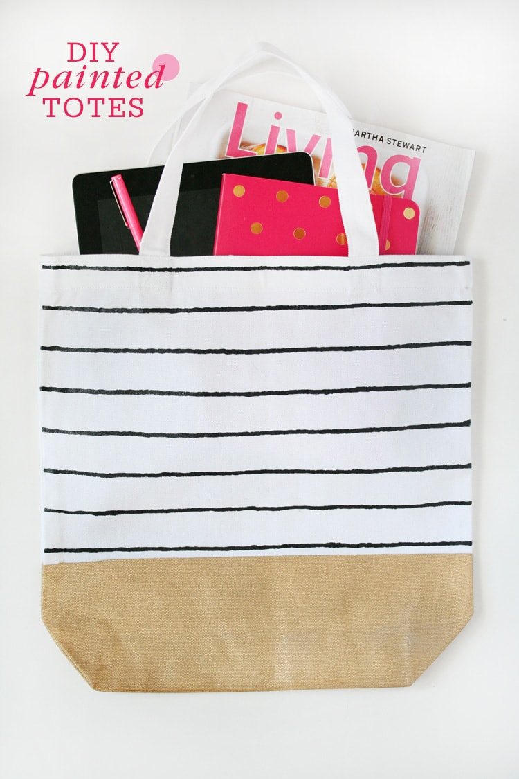 DIY-Painted-Totes