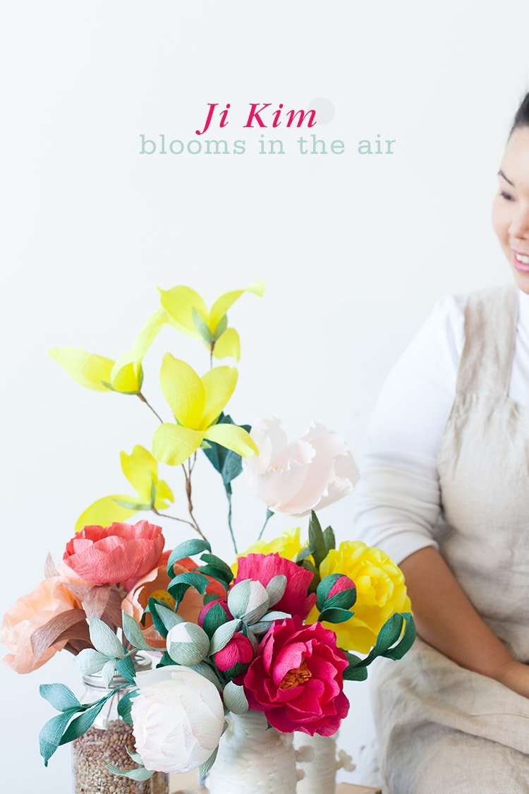 Ji Kim Blooms in the Air