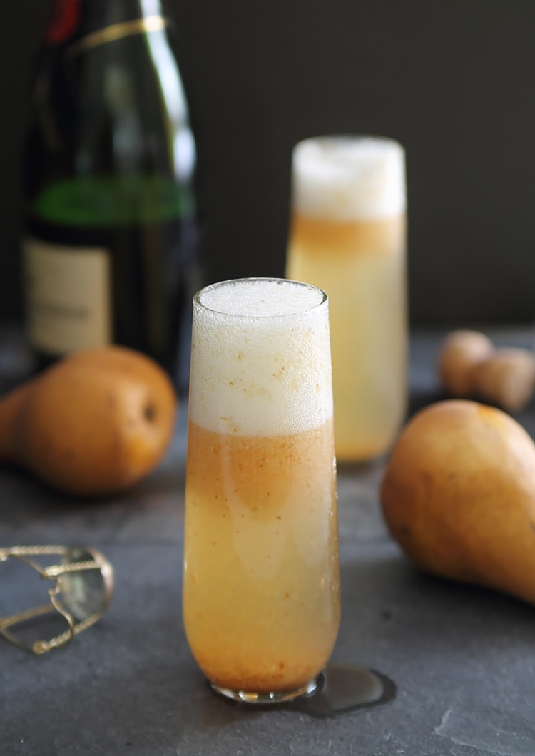 Pear Ginger Bellini Three Bellini Recipes to Try