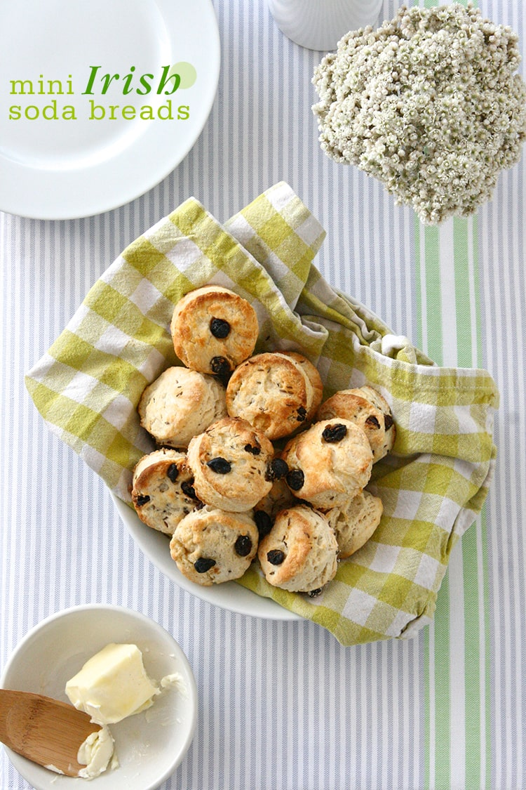 5-Ingredient Mini Irish Soda Breads