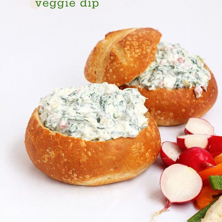 Spinach-Artichoke-Veggie-Dip
