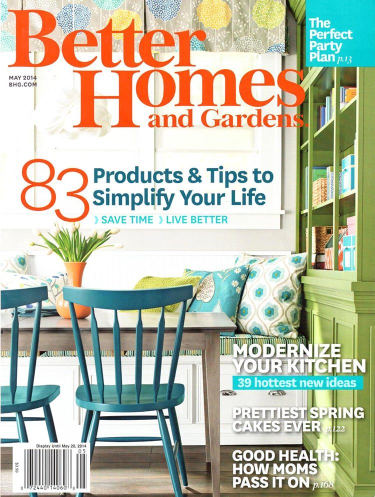 Better Homes Cover Freutcake Freutcake & Better Homes and Gardens