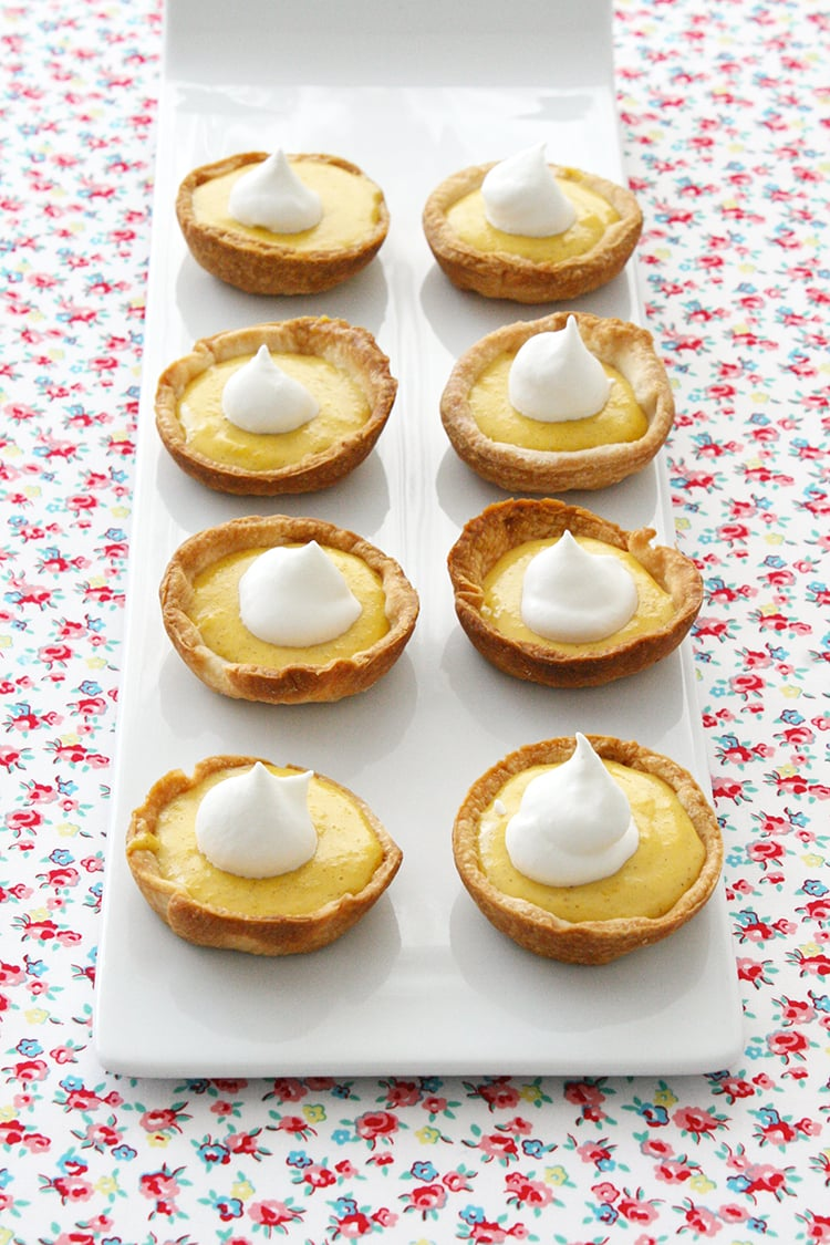 Carrot Pudding Pies 1 MINIATURE CARROT PUDDING PIES