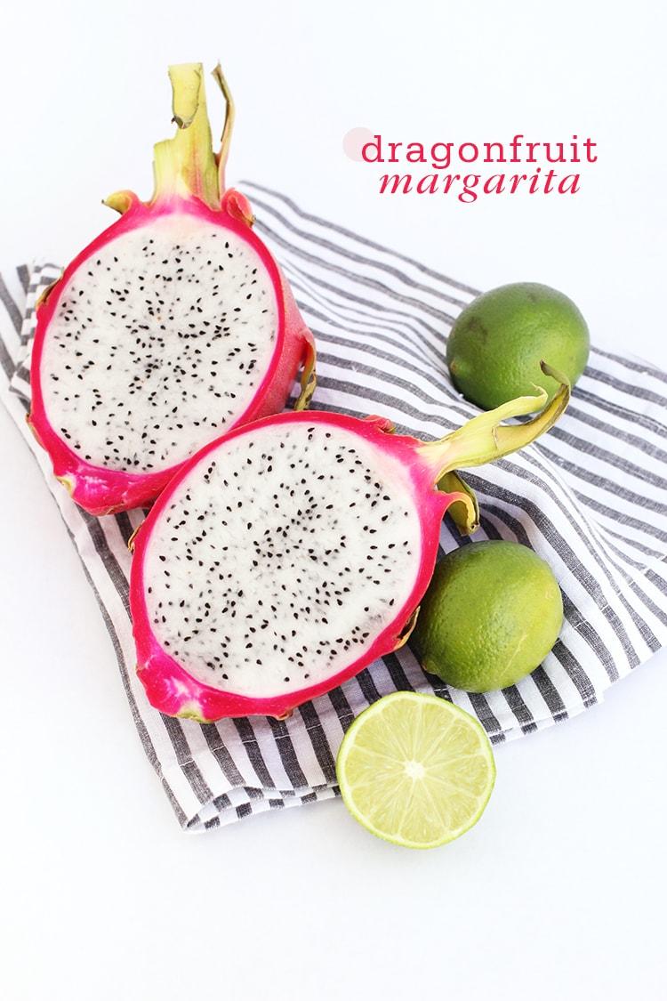 Dragonfruit Margarita {Cocktail Friday} Dragonfruit Margarita