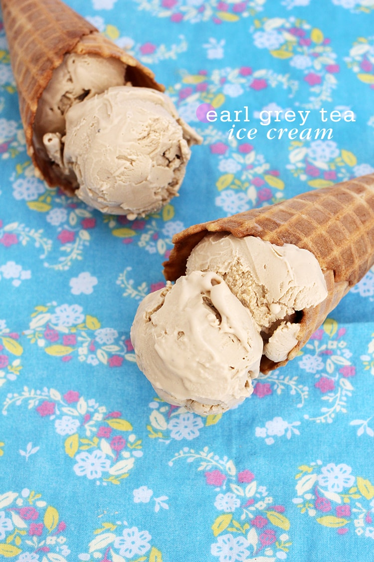 Earl Grey Tea Ice Cream Earl Grey Tea Ice Cream