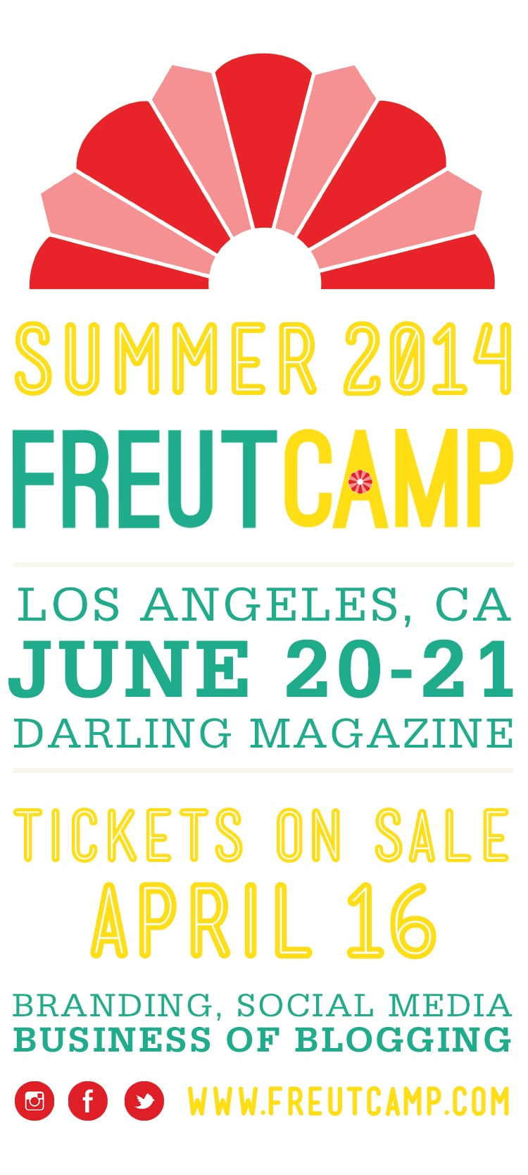FREUTCAMP 2014 ANNOUNCEMENT Freutcamp Summer 2014