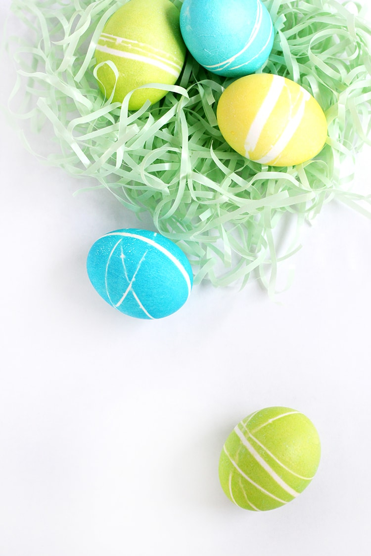 Rubber Band Easter Egg 5 Rubber Band Easter Eggs