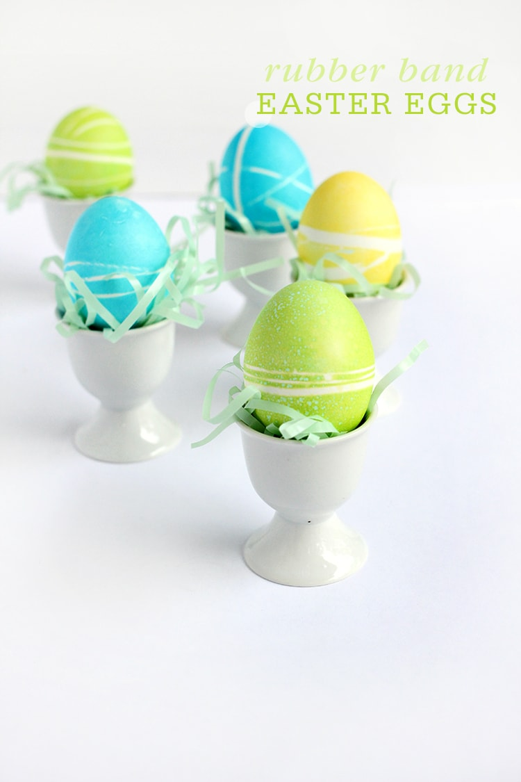 Rubber Band Easter Eggs 4 Rubber Band Easter Eggs