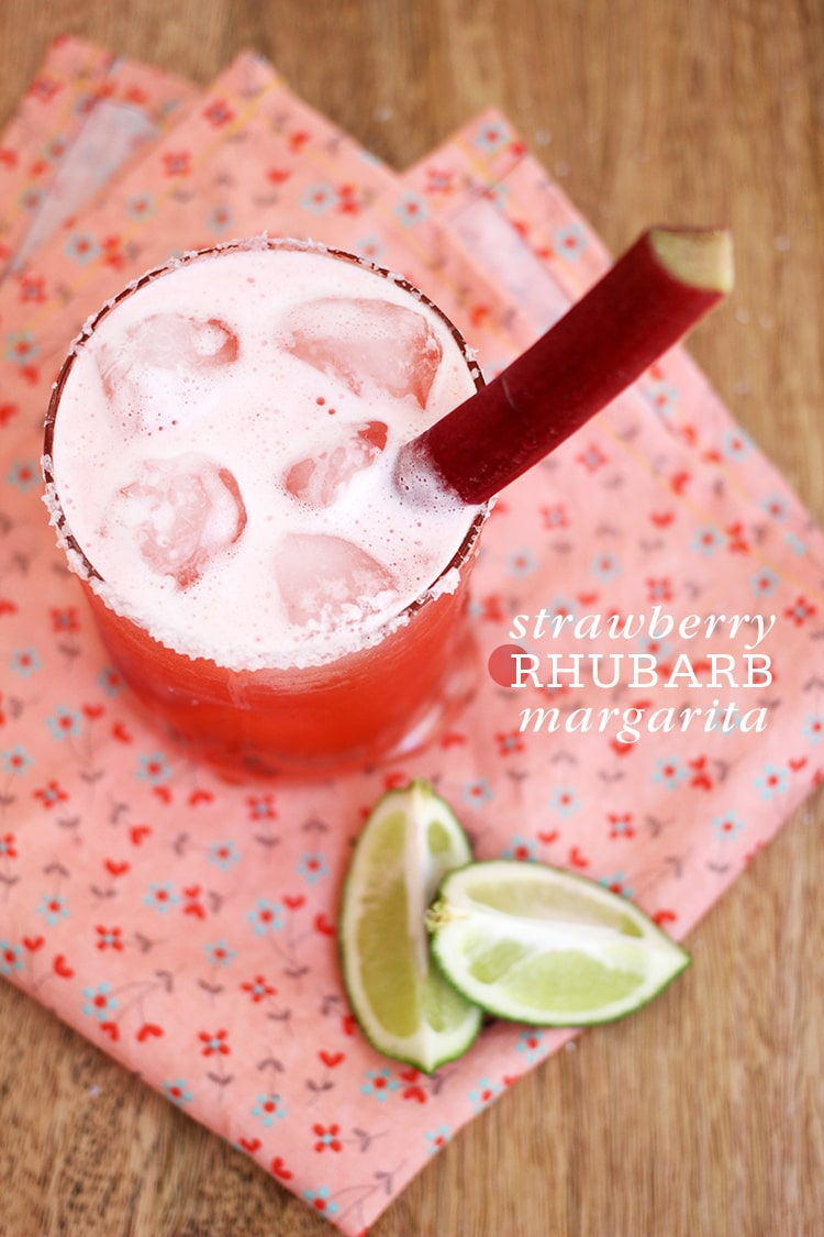 Strawberry Rhubarb Margarita Strawberry Rhubarb Margarita